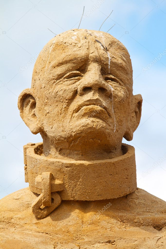 Sand sculpture festival in Denmark — Stock Photo #6822590