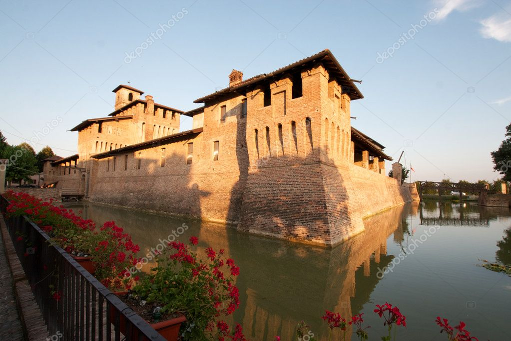 Pagazzano Castle,Bergamo,Italy  Stock Photo #6823715