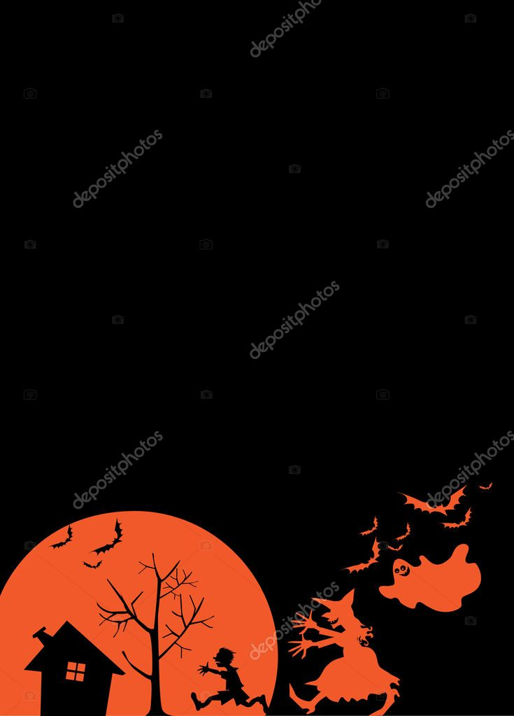What happens to children on Halloween night:) — Stock Vector #6819919