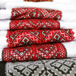Ukrainian traditional embroidery - Stock Photo