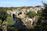 Pohled z hradu knaresbough — Stock fotografie
