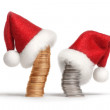 Royalty-Free Stock Photo: Christmas investments 1