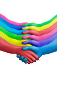 Color agreement-7 — Stock Photo