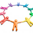 United colors 7 — Stock Photo