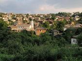 Vesnice dolen — Stock fotografie