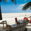 Stock Photo: Zanzibar resort