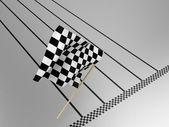 La bandera — Foto de Stock