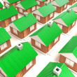 The houses — Stock Photo