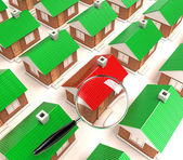 The houses — Stock Photo