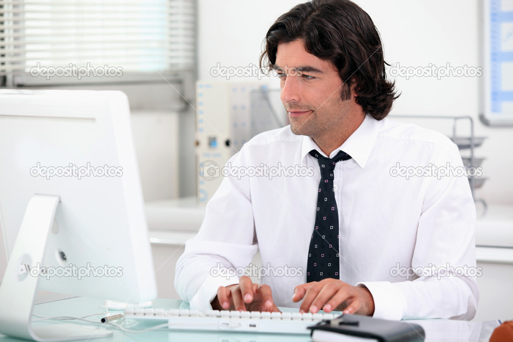 Word processing — Stock Photo #7132800