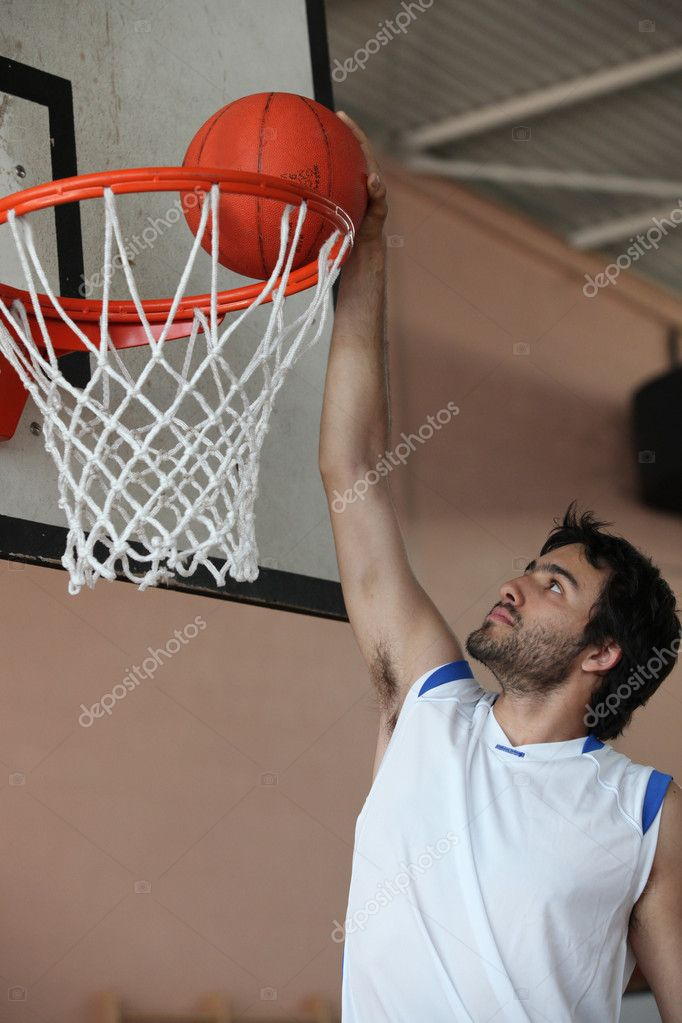 Slam dunk — Stock Photo #7134462
