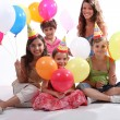 Children&#039;s party - Stock Photo
