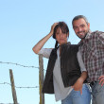 Portrait of a couple — Stock Photo #7230713