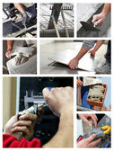 Building mosaic — Stock Photo
