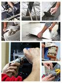 Building mosaic — Stock Photo