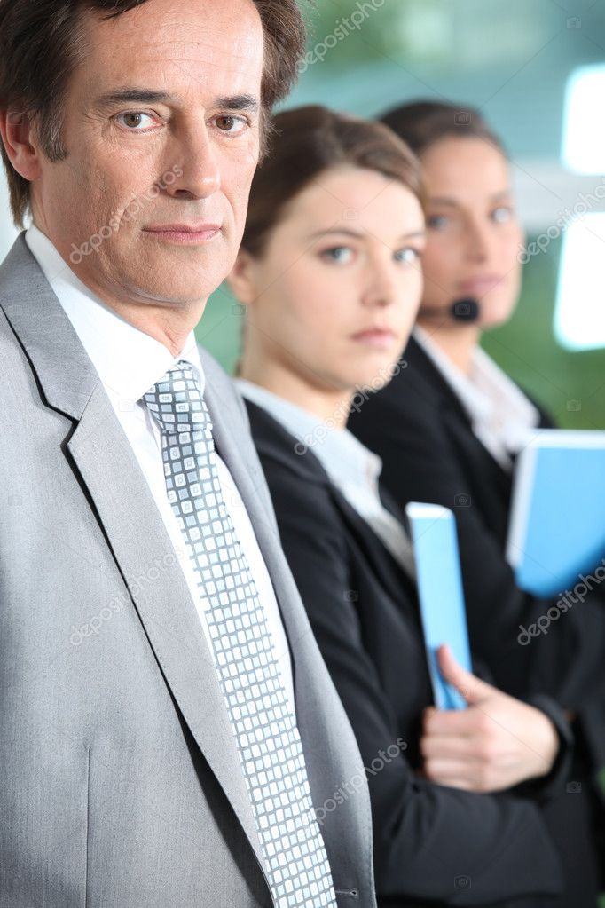 Serious executive — Stock Photo #7362227