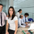 Office workers in meeting — Stock Photo #7372573