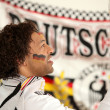 German mixed-race race driver - ストック写真