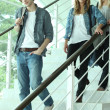 Teenagers at school — Stock Photo #7374047