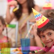 Children at a birthday party — Stock Photo #7374302