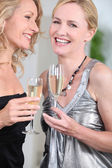 Women partying — Stock Photo