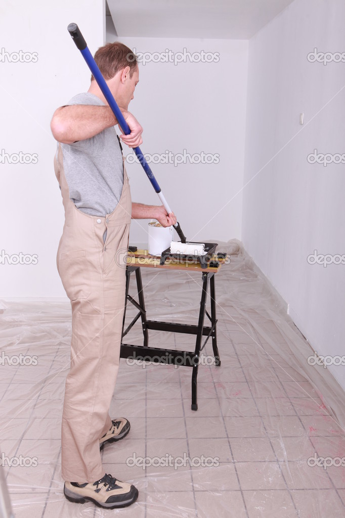 Painter — Stock Photo #7375387