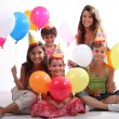 Children at a birthday party — Stock Photo #7390104