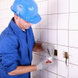 Electrician working — Stock Photo #7392477