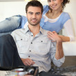 Stock Photo: Couple relaxing