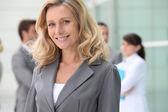 Confident mature businesswoman — Stock Photo