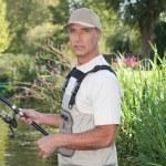 Man fishing — Stock Photo #7429188