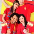 Spanish football fans — Stock Photo #7548684