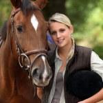 Horse rider — Stock Photo
