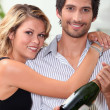 Couple celebrating — Stock Photo #7549210