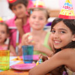 Children's birthday party — Stock Photo