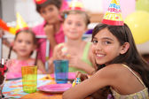 Children's birthday party — Stockfoto