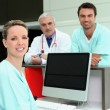 Stock Photo: Healthcare professionals