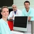 Healthcare professionals — Stock Photo
