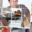 Construction jobs — Stock Photo