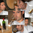 Stock Photo: Wine expert