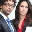 Male and female business duo — Stock Photo #7622514