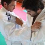 Judo grasp. — Stock Photo #7626182