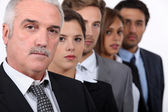 The business team. — Stock Photo
