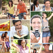 Young in holidays — Stock Photo