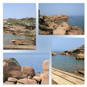 Seafronts landscapes — Stock Photo