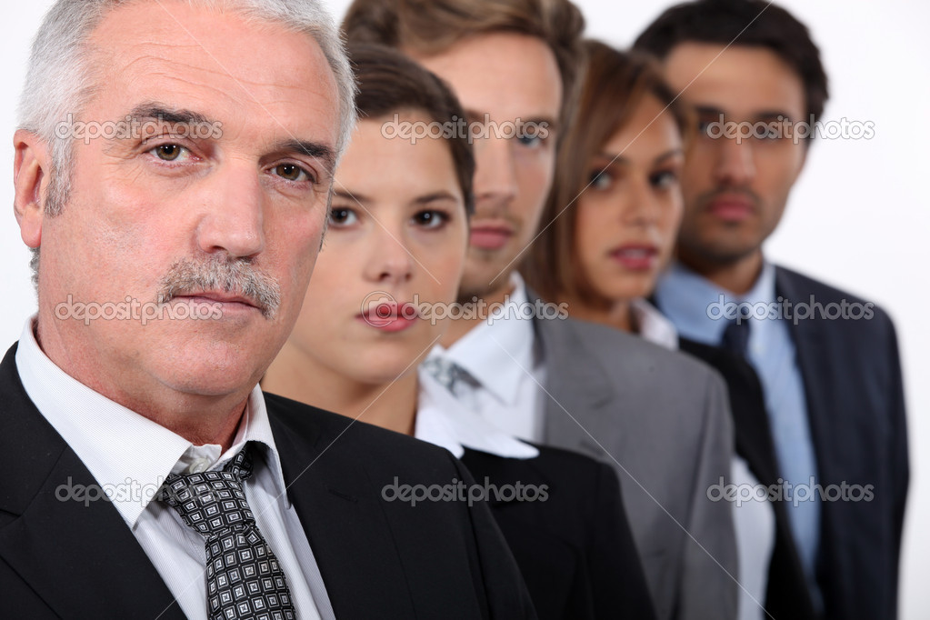 The business team. — Stock Photo #7623213