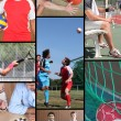 Mosaic of various sports — Stock Photo #7659168