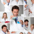Stock Photo: Laboratory work