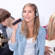 Teenage band — Stockfoto #7659650