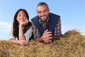 Farmers — Stock Photo
